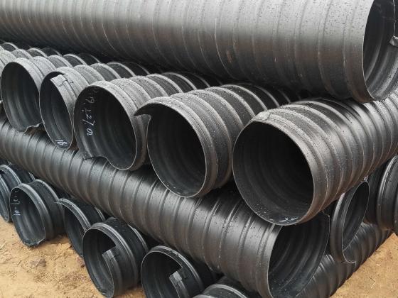 河南HDPE钢带增强螺旋波纹管
